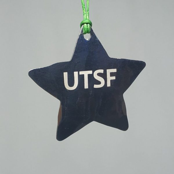 Aluminiumart aluminium tree decoration engraved star