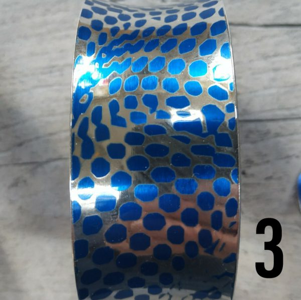 Aluminiumart anticlastic bracelet 3