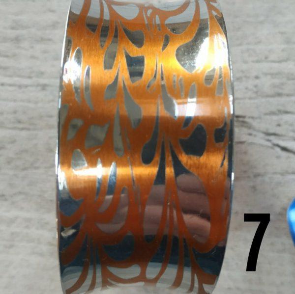 Aluminiumart anticlastic bracelet 7