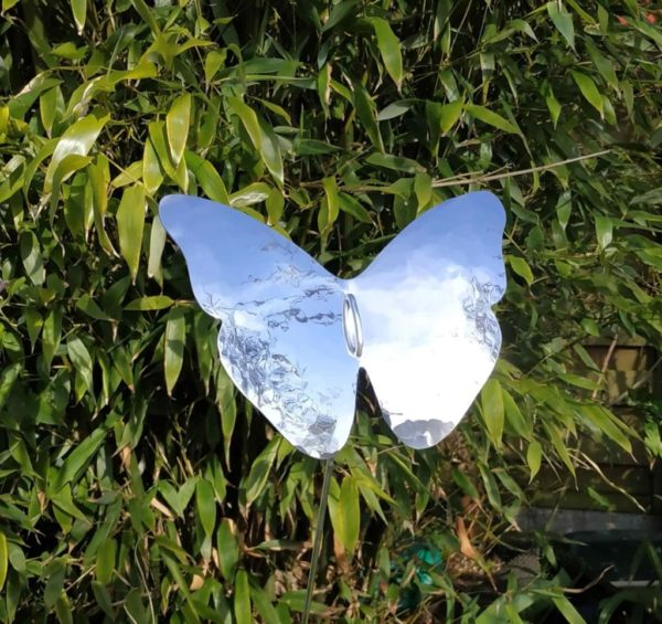 aluminiumart butterfly