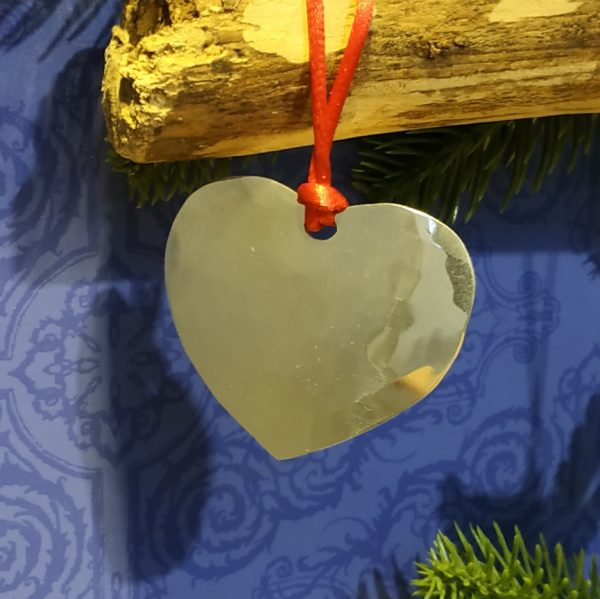 Aluminiumart aluminium tree decoration heart