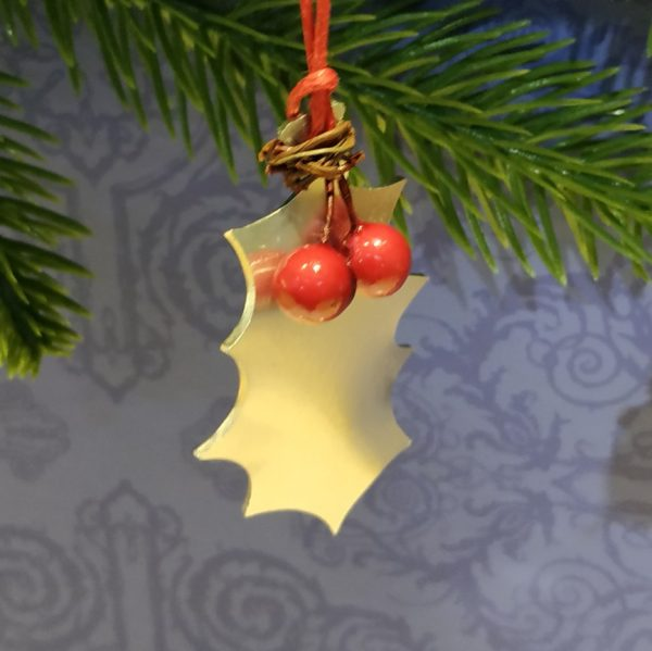 Aluminiumart aluminium tree decoration holly