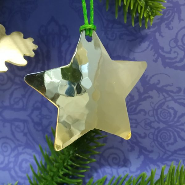 Aluminiumart aluminium tree decoration star plain